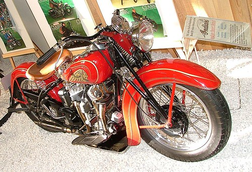 Indian Motorcycle Technik Museum Sinsheim