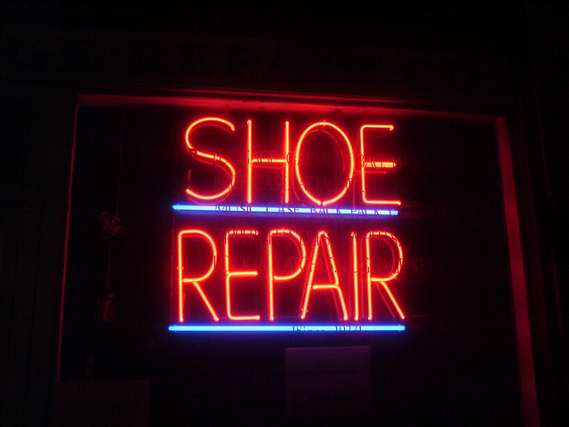 Shoe Repair Logo