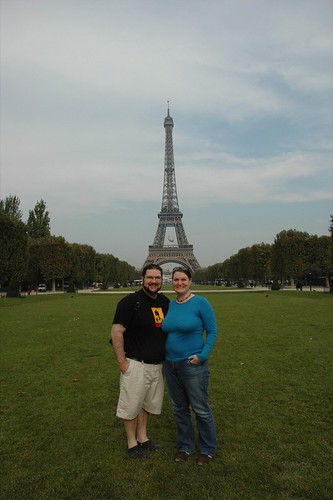 Us at the Eiffel Tower IV