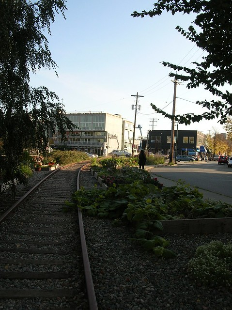 former BCER right of way - 1st Avenue West