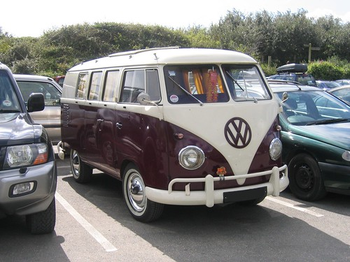 Early 1960s VW van