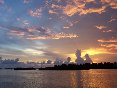 Sunset in Palm Harbor