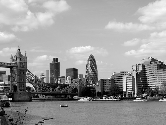 london skyline black and white | Explore babyjamo's photos ...  London Skyline Black And White