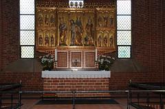 1270 Altar in Løgum Kloster Church