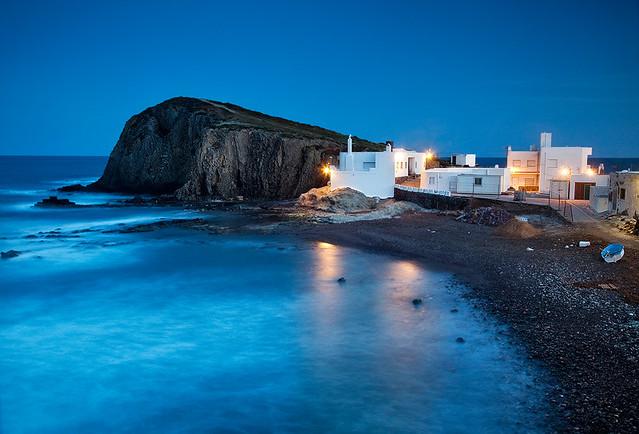 Spain cabo de gata peaceful twilight twlight decend for Cabo de gata spain
