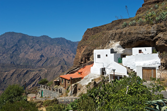 Houses in the rock - Acusa Seca - Gran Canaria