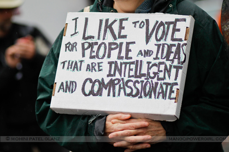 vote for compassion