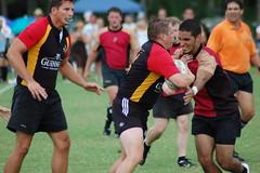 sprint(0.0), football(0.0), australian rules football(1.0), football player(1.0), sports(1.0), rugby league(1.0), rugby union(1.0), rugby football(1.0), rugby player(1.0), team sport(1.0), tackle(1.0), rugby sevens(1.0), team(1.0),