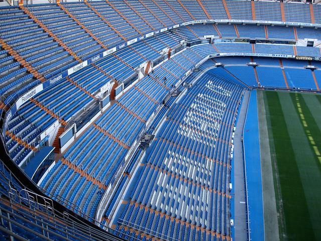 Stadiums of Spain - Bernabeu Stand
