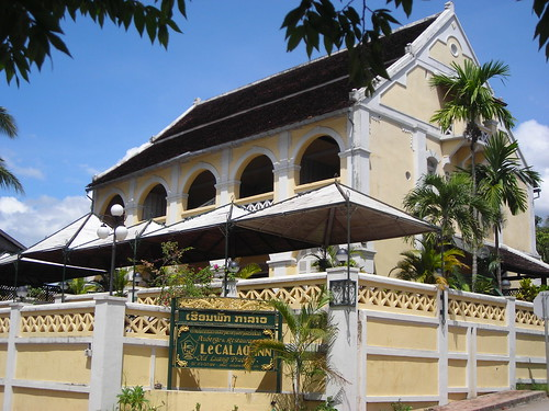 Tour laos the first 5 star hotel to be built in luang for Laos hotels 5 star