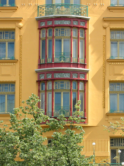 Fa ade du grand hotel europa prague flickr photo for Europe hotel prague
