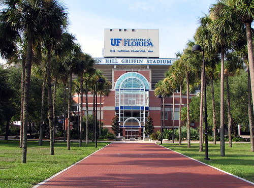 University of Florida Football Stadium