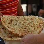 Herb-Laced Bread - Nukus, Uzbekistan