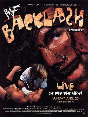 Image result for backlash 1999 poster
