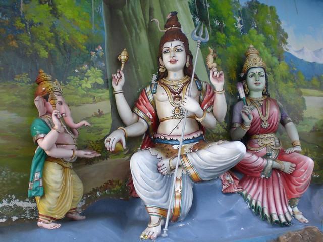 Ganesh, Shiva og Parvati