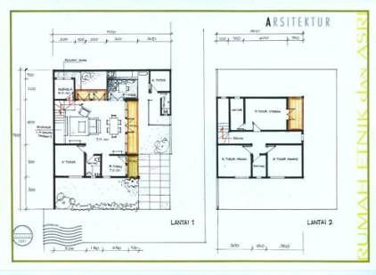 contoh layout rumah images rumah minimalis