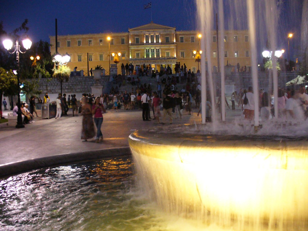 Syntagma, Athens downtown