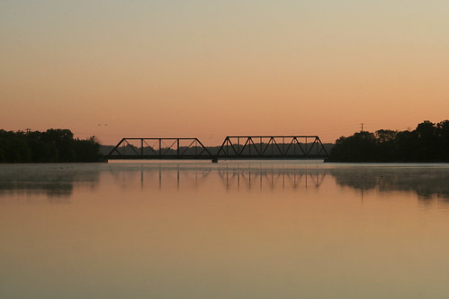 bridge water minnesota sunrise littlefalls mississippiriver bnsf staplessubdivision
