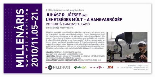Juhász R. József: Lehetséges Múlt - A hangvarrógép