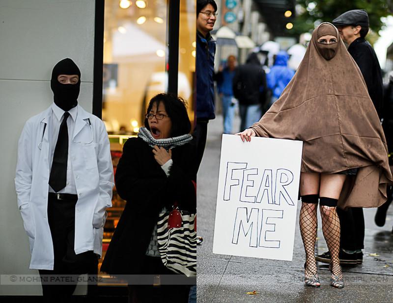 masked fear