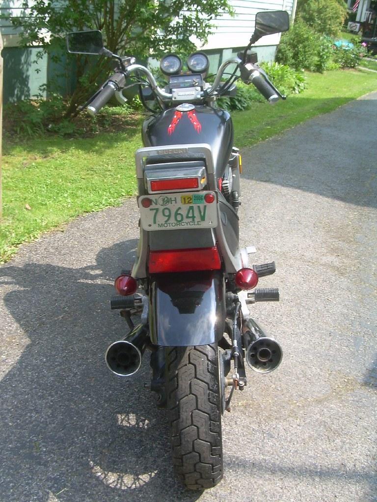 Groovy 1985 Suzuki Gv700 Madura Brake Light The Suzuki Madura Cam Machost Co Dining Chair Design Ideas Machostcouk