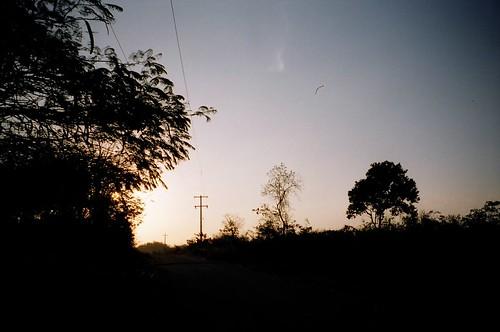 Sunset Over Yaxuna