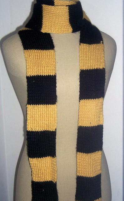 Harry Potter Hufflepuff Scarf Knitting Pattern : Hufflepuff Scarf Flickr - Photo Sharing!