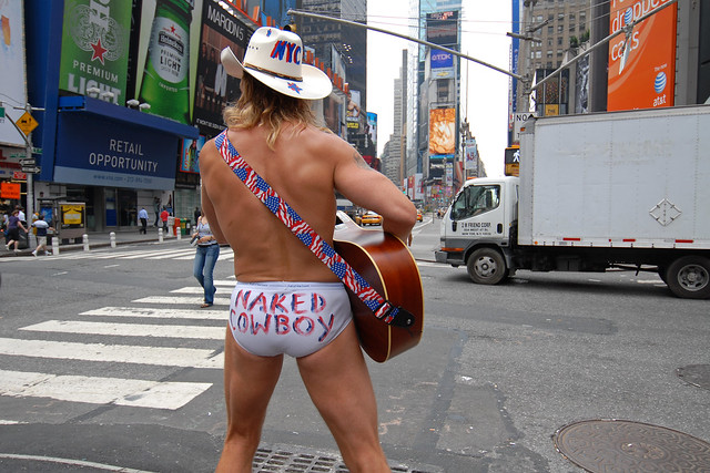 My Son Is the Naked Cowboy   The New Yorker