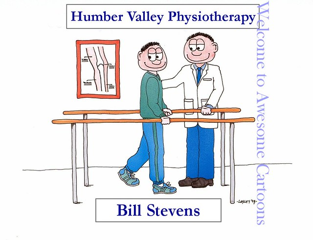 Physiotherapy Cartoons http://www.flickr.com/photos/awesomecartoons/1314503882/