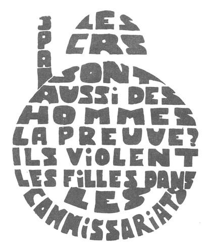 1968 mai Les CRS sont aussi des hommes