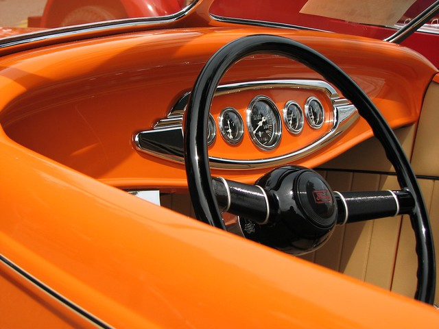 orange car interior flickr photo sharing. Black Bedroom Furniture Sets. Home Design Ideas