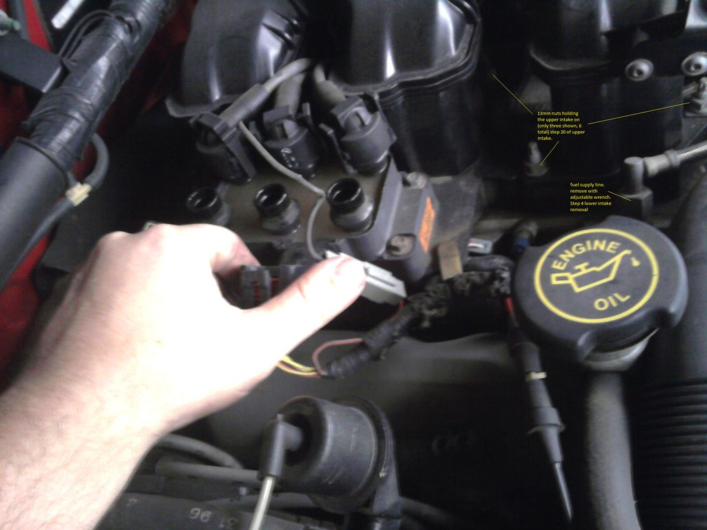 how to  replace valve cover gaskets  fuel rail gaskets and