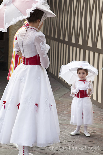 Mary Poppins & Her Smallest Fan