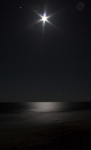 Moon Lit Beach