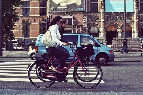 Cyclist by aiisuki, on Flickr