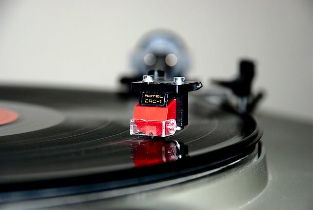 ~Vinyl and dust~