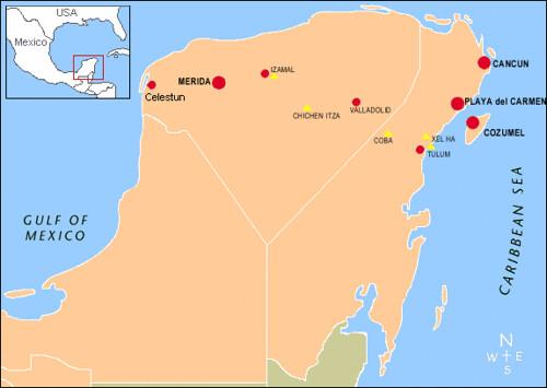 Yucatan Peninsula Map | Flickr - Photo Sharing!