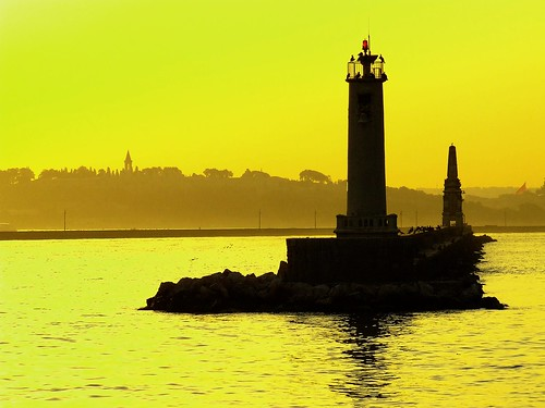 Lighthouse by Sunset