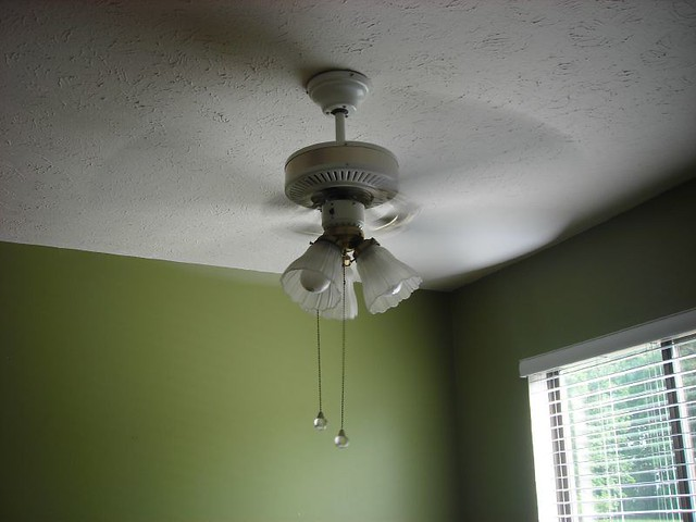 ceiling fan in the dining room flickr photo sharing. Black Bedroom Furniture Sets. Home Design Ideas