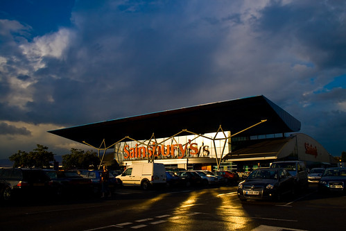 Sainsbury's sunset