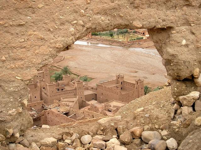 Ksar de Ait Ben Hadu, Uarzazate, Marruecos
