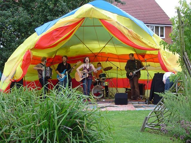 Elder Stubbs Festival Stage