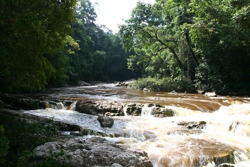 Upriver view - Lata Berkoh