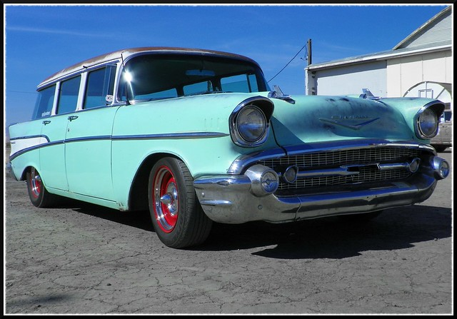 57 Chevy Wagon