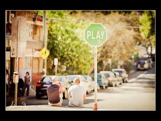 Play on Australia Street Newtown