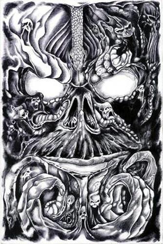 Evil II - BighouseArt.com prison art