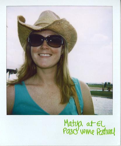Matya Wine Festival Polaroid