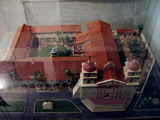 Santa barbara mission model flickr photo sharing for Mission santa barbara floor plan