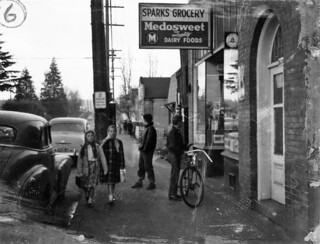 Sparks Grocery, 1957
