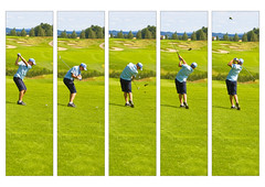 Golf downswing drills as it should be excecuted